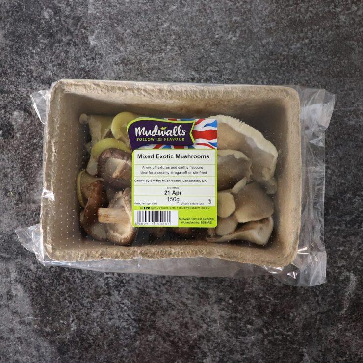 Mild Mixed Mushrooms